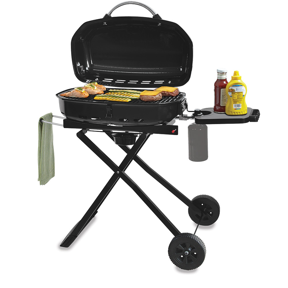 Outdoor LP Gas Tailgate Barbecue Grill - Blue Rhino Global ...